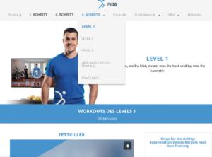 Schritt 3 PK30 Workout Hit Programm Michael Gersic