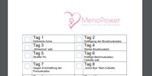 MenoPower, Schlank und fit durch die Wechseljahre, Schlank und fit Intensivtraining, Gabriela Höper