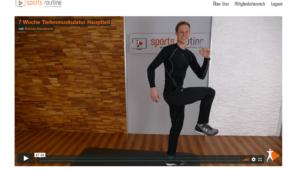 Sports Routine Programm Markus Koopmann