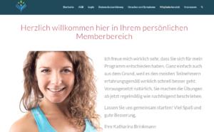 Mitgliederbereich Nie wieder Ischias- und Piriformisbeschwerden, Katharina Brinkmann